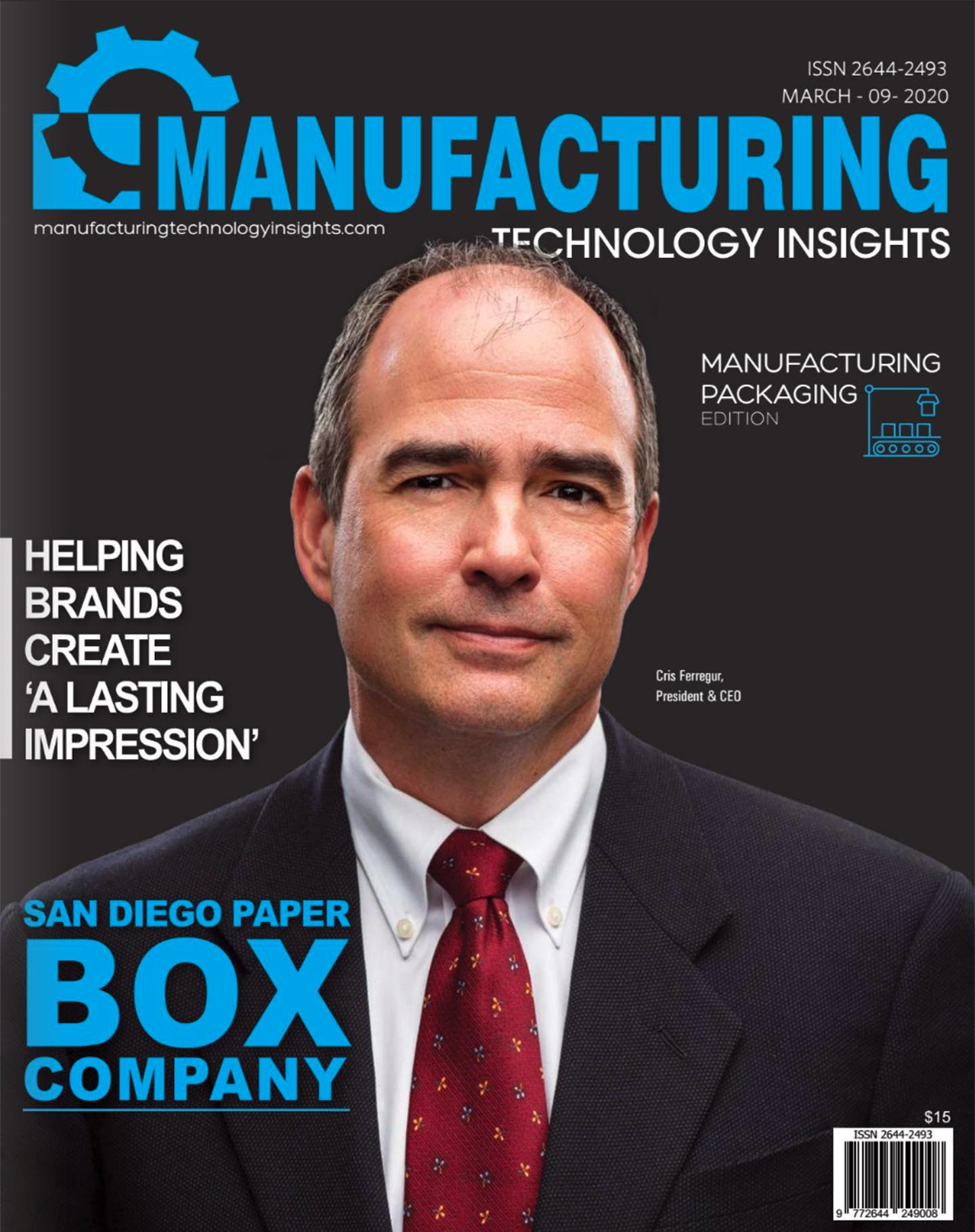 Manufacturing cover Mar 2020