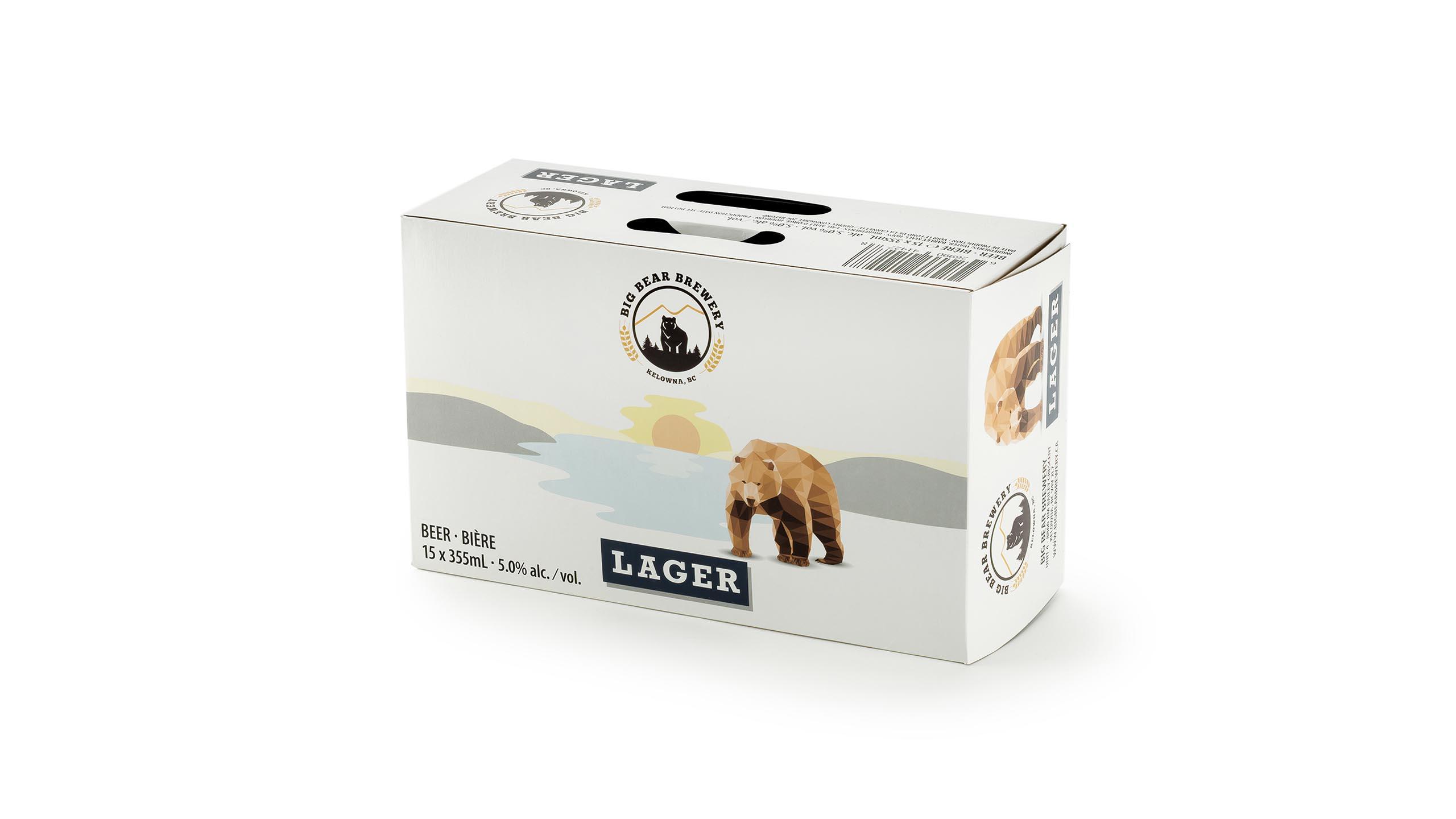 Presentation Packaging Beverage lager