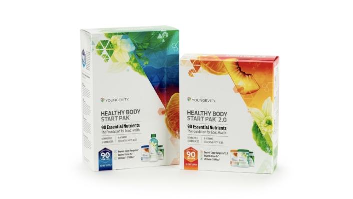 Presentation Packaging Health Beauty Body